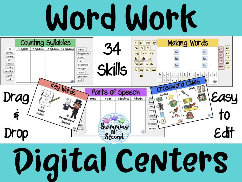 Word Work Digital Centers