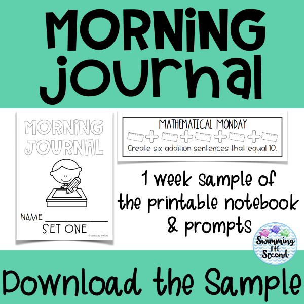 Download a free week with a printable notebook and prompts.