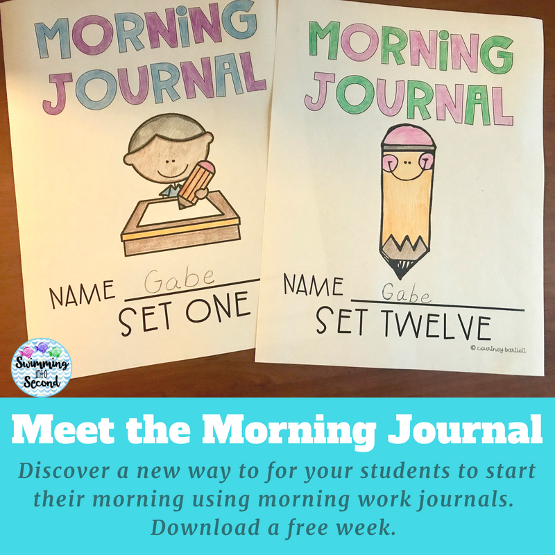 Start your school year off right with printable morning prompts and activities. Stop by for a free download with a week's worth of prompts and journals.