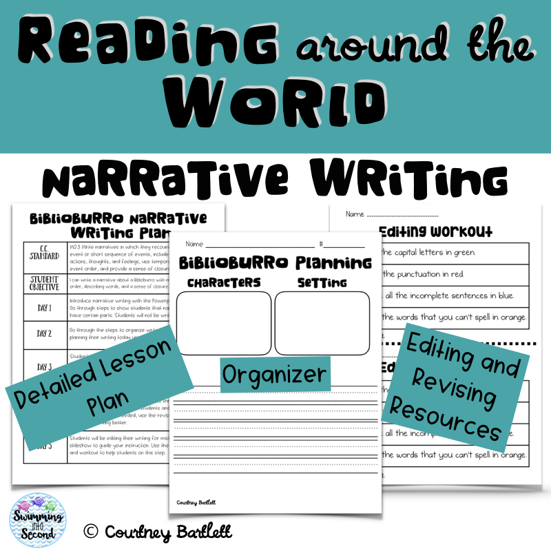 Biblioburro narrative writing